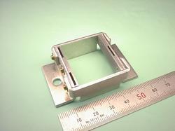 板金加工(組立後) : アルミニウム A5052P t2.0 試作加工(機械加工品の代用部品)