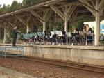 長井高校の吹奏楽部の演奏
