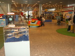 生活系展示 : 生活の科学、趣味と遊びの科学や、環境の科学、フライトコーナーなどあります。