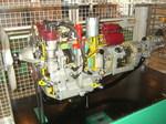 生活系展示 : 日本初のロータリーエンジンの模型だとか。