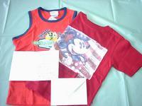 海外在住のお客様からのお礼のプレゼント(ディズニーの子供服)