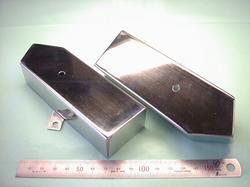 板金加工 : ステンレス SUS304 2B t1.0 片面研磨材 バフ研磨仕上げ