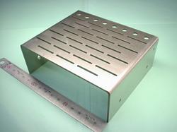 板金加工 : ステンレス SUS304 t2.0 レーザーカット(レーザー加工) 精密機器用部品