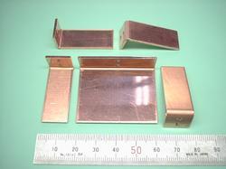 板金加工 : タフピッチ銅 C1100P t1.5