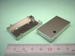 板金加工 : ステンレス SUS304 t0.3 シールドケース 試作加工