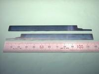 精密板金加工 : 焼入れリボン鋼(ブルーテンパー) QSK t0.1 板バネ部品試作