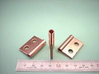 精密板金加工 : 銅(無酸素銅) C1020P t1.0 接続端子