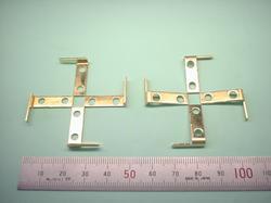 板金加工 : 真鍮(真ちゅう) C2801P t1.0