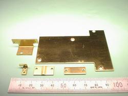 板金加工 :真鍮(真ちゅう、真中) C2801P t1.0 : 試作加工