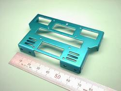 ロボットパーツ(二足歩行ロボット部品) : 精密板金加工 A5052P アルミニウム合金 t1.2 青アルマイト処理