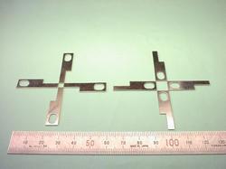 板金加工 : 銅(無酸素銅) C1020P + ニッケルめっき t0.6 試作加工