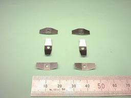 板金加工(試作加工):ステンレスばね材 SUS304-CSP t0.3
